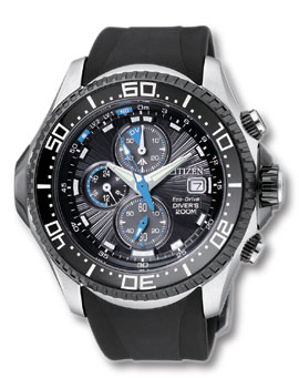 Citizen Eco Drive Chrono Aqualand