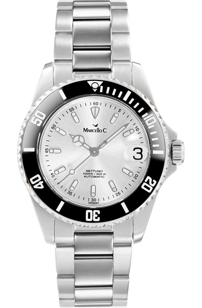 Marcello C Automatic Diver Lady-Nettuno 1010.3