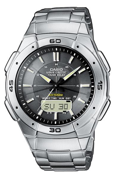 CASIO Herrenuhr WVA-470DE-1AVEF