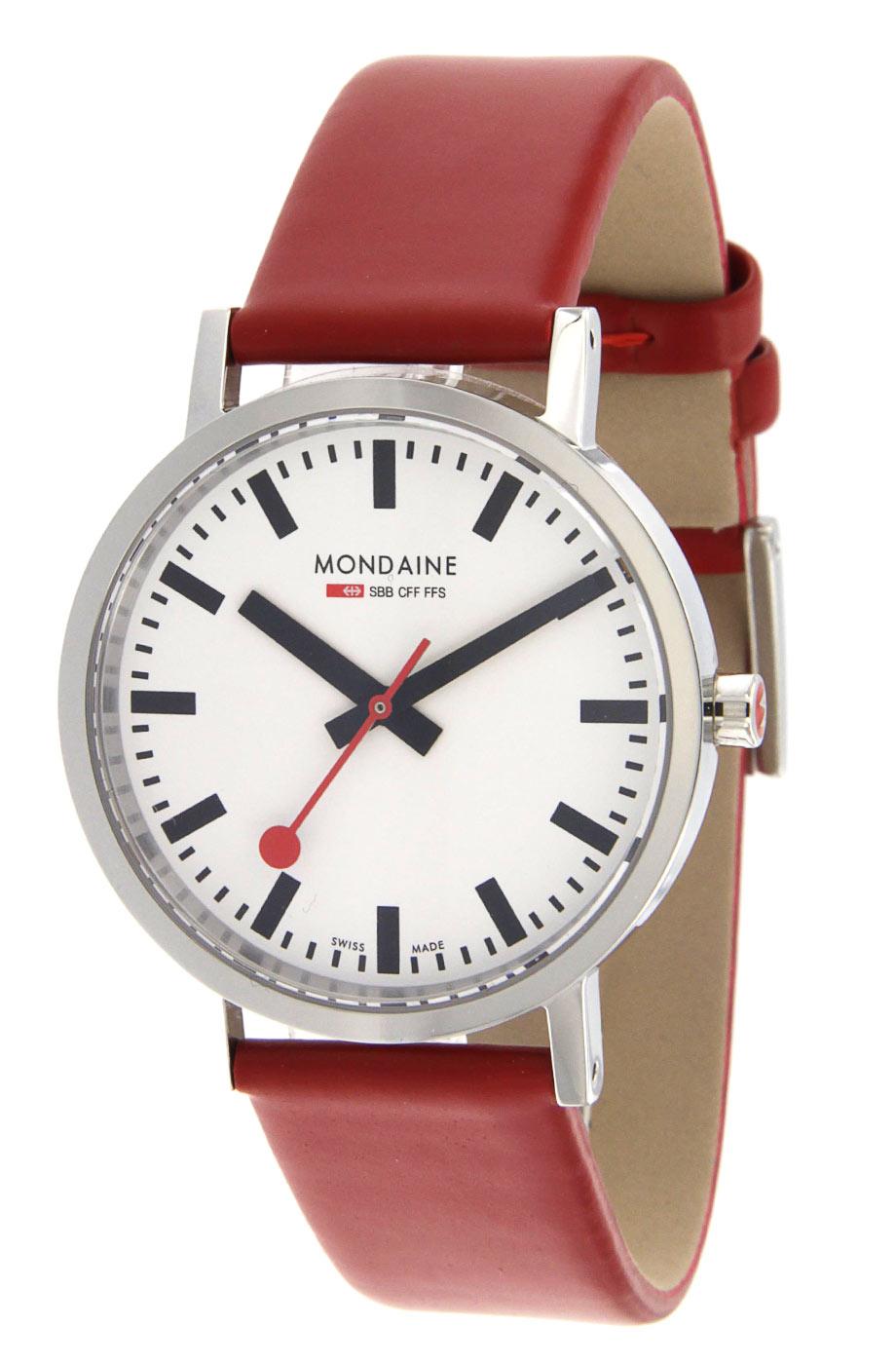 Mondaine orologio da stazione uomo con vetro zaffiro a660 for Orologio da stazione