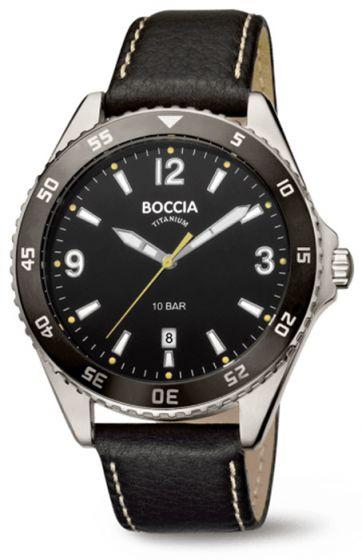 Boccia 3599-02 Herrenuhr Titan