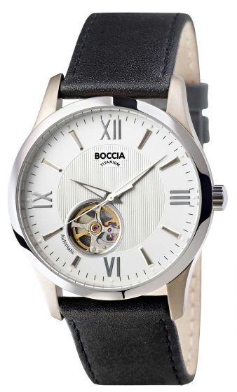 Boccia 3539-01 Automatik Herrenuhr aus Titan