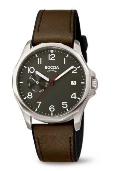 BOCCIA Titanium Herrenuhr 3644-01