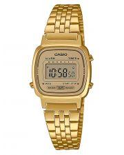 CASIO Collection LA670WETG-9AEF Digital Damenuhr goldfarben