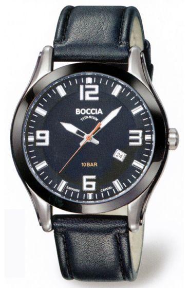 BOCCIA Herrenuhr 3555-01