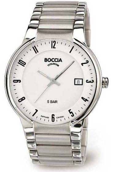 BOCCIA 3629-02 Herrenuhr