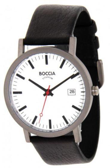 Boccia 3622-01 Herrenuhr mit Sonderausstattung Saphirglas