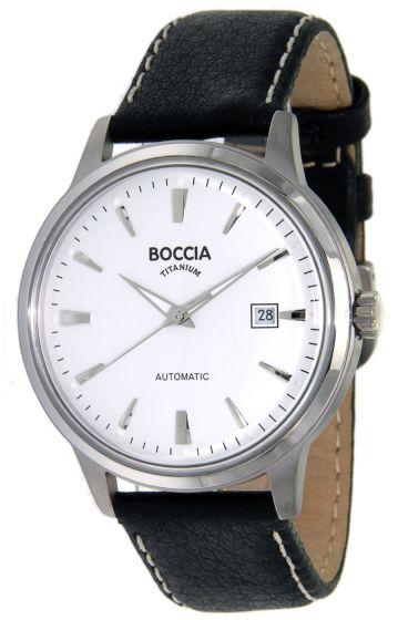 Boccia 3586-01 Herrenuhr Automatik