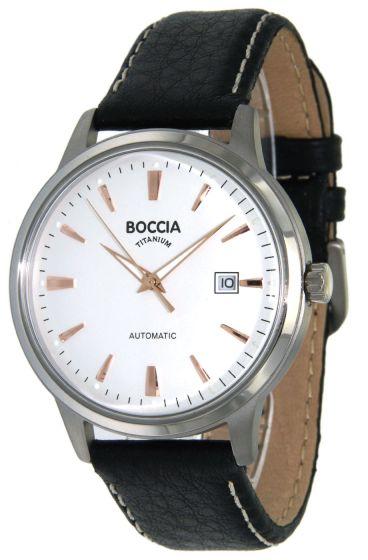 Boccia 3586-03 Herrenuhr Automatik